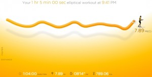 NikePlus Screenshot