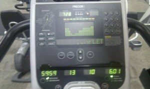 An Hour on the Elliptical
