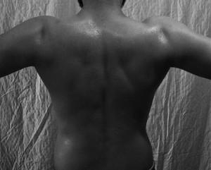 After shot of Back and Shoulders
